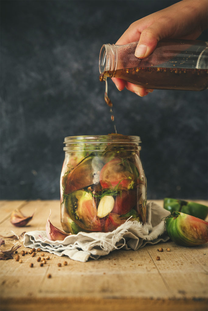 Pickles de tomates
