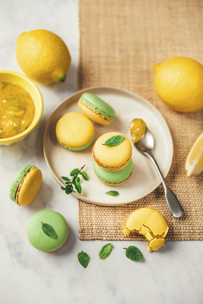 Macarons au citron ©Sandrine Saadi
