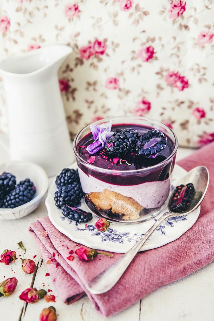Trifle aux mures ©Sandrine Saadi